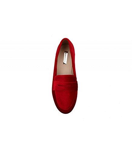 Buonarotti , Chaussures de ville à lacets pour femme Rouge