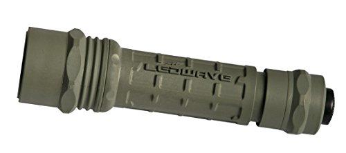 Ledwave LD-86084Camo C-1 Taschenlampe, weißes Licht, Grün (Surefire Batterien Cr123)