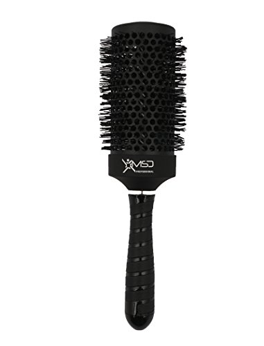 MSD 53 MM BLACK HEAT RESISTANCE HAIR ROUND BRUSH CERAMIC+IONIC