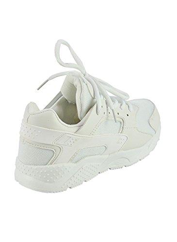 Baskets Running Fashion Blanc