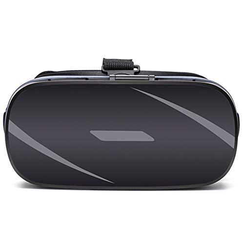 RZJ-Storage stool VR-Brille Virtual Reality 3D Panorama-Stereo-Theater Mit Stereo-Kopfhörern für den tragbaren Betrieb, zum Ansehen von Filmen und Spielen