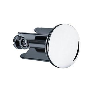 EsGo Sanitär Universal Waschbeckenstöpsel 40 mm - hochwertiger Abflussstopfen für alle handelsüblichen Waschbecken und Bidets - Deutschlands beliebtester Stöpsel in fast jedem Bad zu Hause