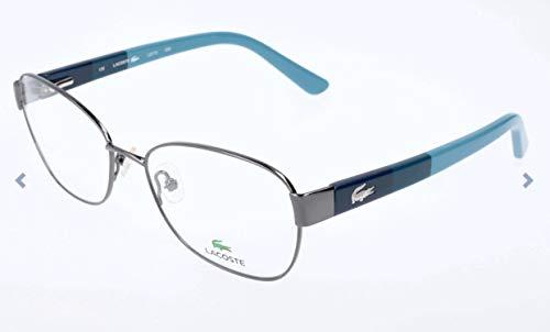 Lacoste brillengestelle l2173 montature, blu (blau), 53.0 donna