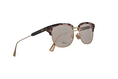 61bc7a91bf Christian Dior MyDiorO2 Eyeglasses 52-17-145 Havana Pink Gold w/Demo Clear