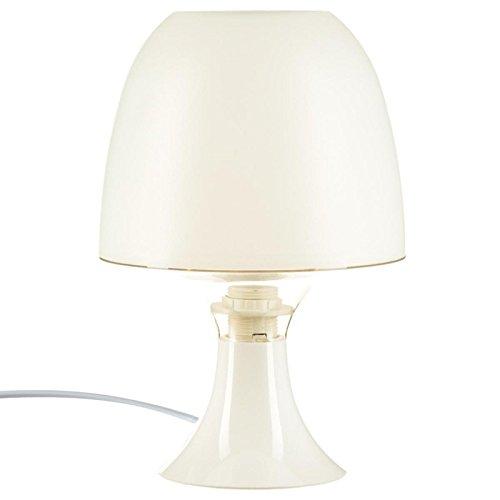 Paris Prix - Lampe Deco Champignon Blanc