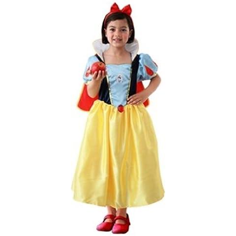 Rubies 3 883678 M - Disfraz de Blancanieves para niña (5 años) (talla M)