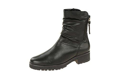 Gabor Comfort Damen New Jersey Stiefelette Größe 37 Schwarz (schwarz)