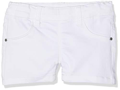 Name IT NOS Mädchen Shorts NKFSALLI TWITINNA AF NOOS, Weiß (Bright White), (Herstellergröße: 134)