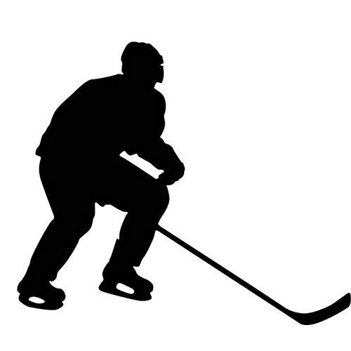AYUOP Auto Aufkleber Sport Eishockeyspieler Grafik Auto Aufkleber Für Autos Seite LKW Fenster Wohnmobil Wohnmobil Tür Vinyl De