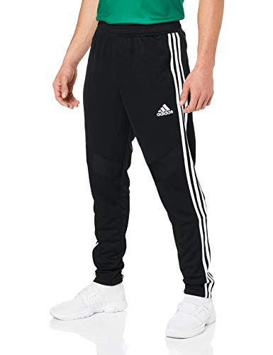 adidas Herren TIRO19 TR PNT Sport Trousers, Black/White, XS (Fußball-lange Hosen)