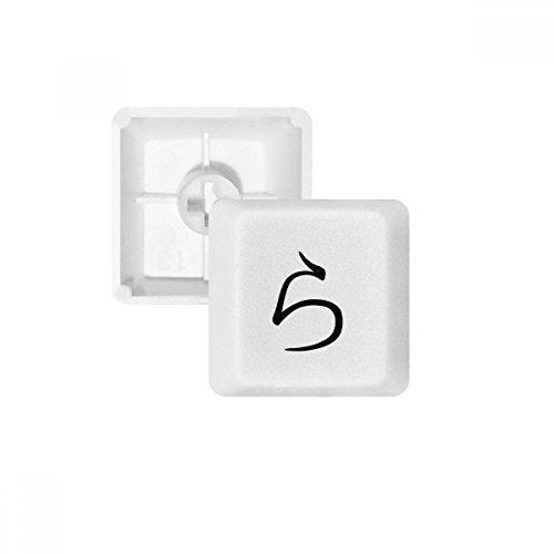 DIYthinker Japanische Katakana Zeichen RA PBT Keycaps für Mechanische Tastatur Weiß OEM Keine Markierung drucken -