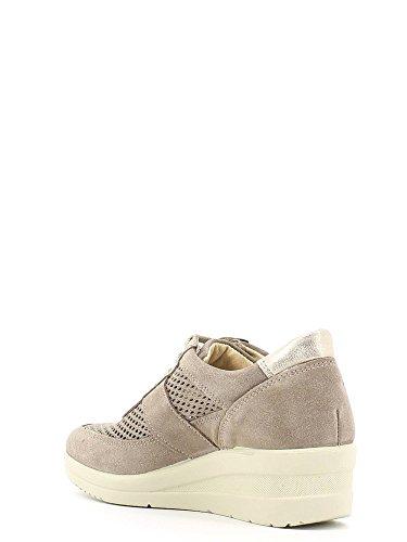 ENVAL , Chaussures de ville à lacets pour femme - Visone
