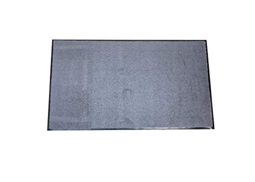 Teppichwahl Fußmatte Canandaigua, wasserdicht, Schmutzfangmatte Fußabtreter Türmatte Fußmatte Sauberlaufmatte Schmutzabstreifer Türvorleger - Eingangsbereich In/Outdoor (grau)