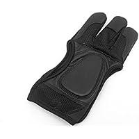 Qualität Schwarz Mesh Bogenschießen Handschuhe. Bogenschießen Handschuhe.