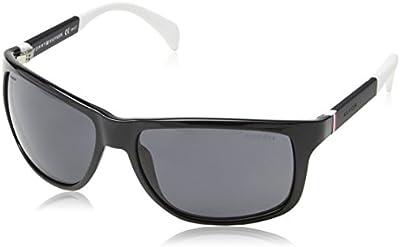 Tommy Hilfiger Gafas de Sol Polarized 1257/ S TD4NH59 (59 mm) Negro