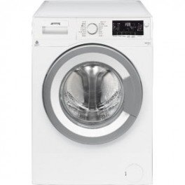 Smeg WHT912EIT-1 Libera installazione Caricamento frontale 9kg 1200Giri/min A+++ Grigio, Bianco lavatrice