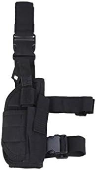 WinCret táctica de la pierna de la pistolera 7 colores-Multi-funcional del muslo de la pistola del arma de funda para propicios para viajes al aire libre
