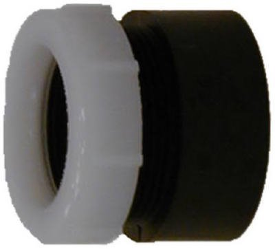 Dwv Adapter (Genova Products 82211 ABS-DWV Trap Adapters, 1-1/2 x 1-1/4 by Genova)
