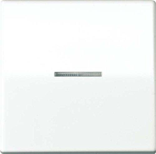 Jung ABAS 591 KO5 Wippe für Schalter und Taster mit Lichtleiter Serie AS antibakteriell weiß, -