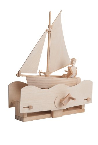 Salty Sailor - Timberkits auto-assemblaggio di legno Construction Kit Moving Modello