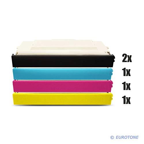 5X Müller Printware Toner für Ricoh Aficio SP C 210 sf ersetzt TYPE140 DT140 402099 402097 402100 402098 -