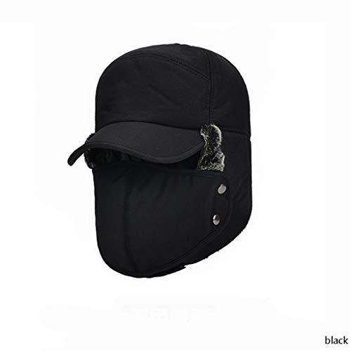 Nosterappou Ispessito cappello da uomo in cotone di mezza età 4b4c3e135da0