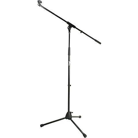 Tiger MCA68-BK Pied de Microphone Perche avec Pince - Noir