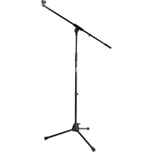 tiger-mca68-bk-soporte-de-mesa-para-microfono-con-jirafa-y-pinza-color-negro