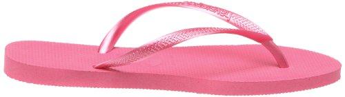 Havaianas Slim, Tongs Femme rouge 3446