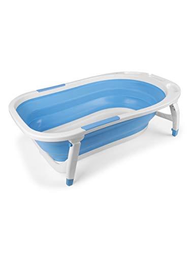 Bañera Bebé Plegable Azul - Bañeras para bebés