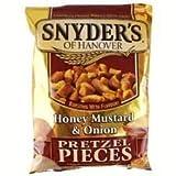 Snyder's Mostarda Di Cipolla Pezzi Pretzel 125g (Confezione da 2)
