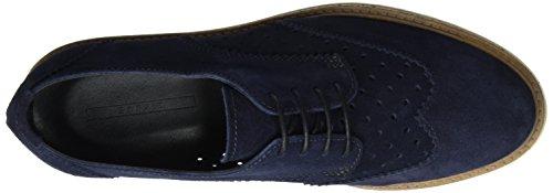 Esprit Crissy, Derby Femme Bleu (Navy 400)