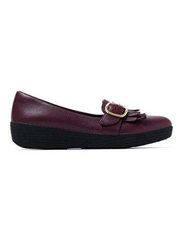 FitFlop Buckle Sneakerloafer - Black Purple