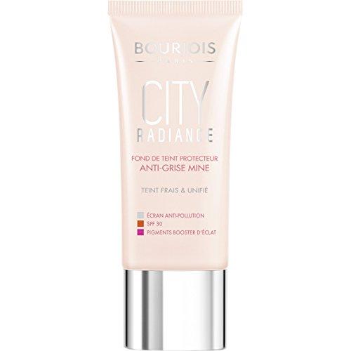 Bourjois Paris City Radiance Brightening Effect Skin Protecting Foundation - 06 Golden Sun