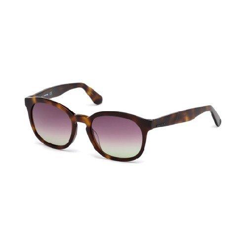 Diesel Sonnenbrillen Für Frau 0190 53T, Blonde Tortoise / Bordeaux Gradient Kunststoffgestell