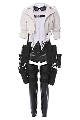 MingoTor Devil May Cry V DMC5 Lady Mary Outfit Cosplay Kostüm Damen - Devil May Cry 5 Dante Cosplay Kostüm
