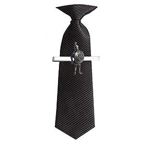 Athen Hoplite Midi we-gwkr English Pewter Emblem auf eine Krawatte Clip 4cm lang