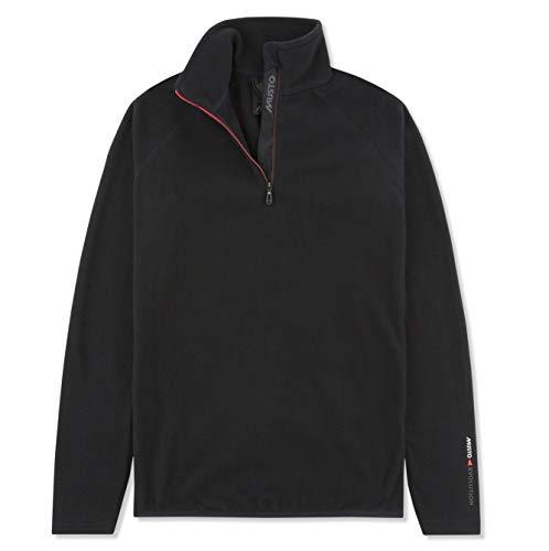 Musto Womens Evolution Half Zip Fleece Jacket - Black 8 Womens Half Jacket