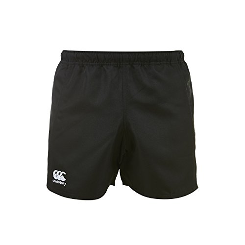 Canterbury Herren Advantage Rugby Shorts, Schwarz, XL