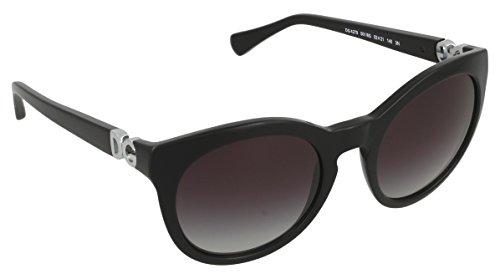 Dolce & Gabbana Sonnenbrille 4279_501/8G (52 mm) schwarz