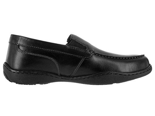 Rockport Herren rlii venezianischen breit Schlupfschuhe & slip-ons Schuh Schwarz