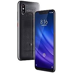 "Xiaomi Mi 8 Pro - Smartphone Dual SIM de 6.21"" (4G, Qualcomm Snapdragon 845 2.8 GHz, RAM de 8 GB, Memoria de 128 GB, cámara de 12 MP) Color Titanio Transparente"