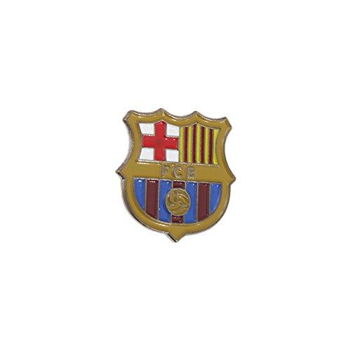 Fußball-Anstecknadel mit FC Barcelona Logo Bunt