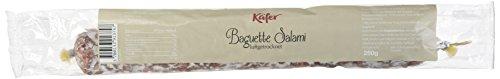 Feinkost Käfer Baguette Salami, 2er Pack (2 x 250 g)