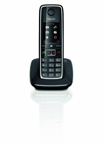 Gigaset C530 - Teléfono fijo inalámbrico, negro