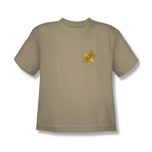 Eureka - Jugend-Abzeichen T-Shirt im Sand, X-Large, Sand (Eureka Sand)
