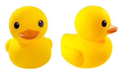 8 Jumbo Rubber Duck Bath Toy - Giant Ducks Duckie Baby Shower Birthday Party Favors by Liberty Imports