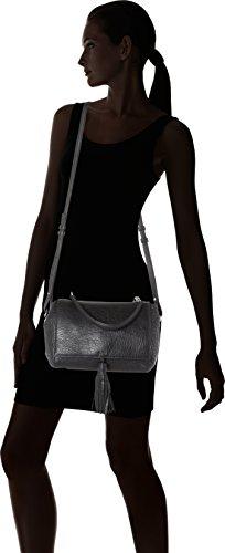 Hugo - Tecla-a 10202305 01, Borse Baguette Donna Nero (Black)