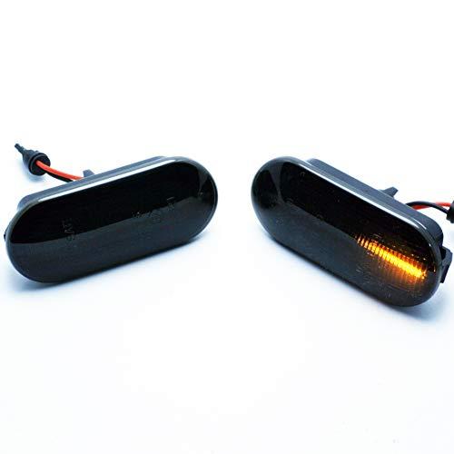 Lot de 2 clignotants latéraux à LED pour Seat Leon Ibiza Golf E4 Mot TÜV ITV