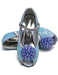 ELSA & ANNA® Última Diseño Niñas Princesa Reina de Nieve Partido Zapatos Zapatos de Fiesta Sandalias BLU23-SH